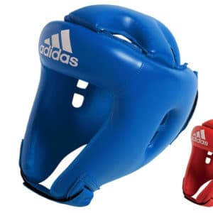 Casque Boxe Adidas Initiation Rouge