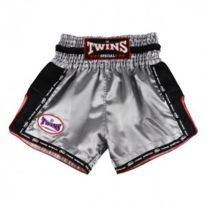 Muay Thai Twins Short Grey