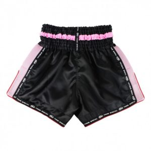 Short Muay Thaï Twins Noir Rose
