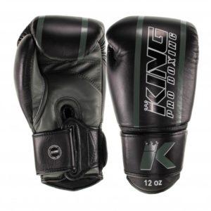 Gants de Boxe KING KPB/BG ELITE 5 Noir/Kaki