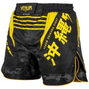 FIGHTSHORT COURT VENUM OKINAWA 2.0 - NOIR/JAUNE