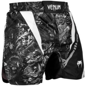 FIGHTSHORT COURT VENUM ART - NOIR/BLANC