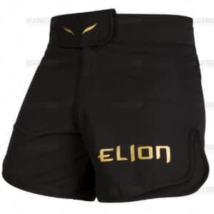 SHORT MMA ELION - NOIR/OR