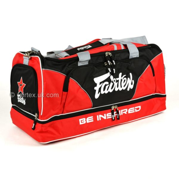 SAC DE SPORT FAIRTEX PREMIUM - ROUGE