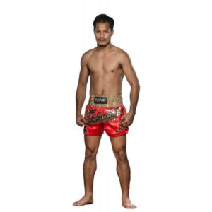 Short Muay  Thaï King rouge