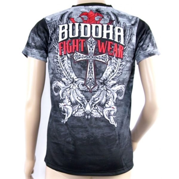 T-shirt MMA BUDDHA DARK ANGELS