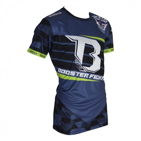 T-shirt BOOSTER DRAB GRIS/FLUO