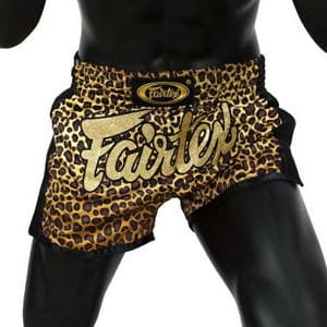 SHORT DE BOXE THAI FAIRTEX LEOPARD