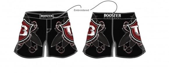 Short Booster MMA PRO 18 WARRIOR SHIELD