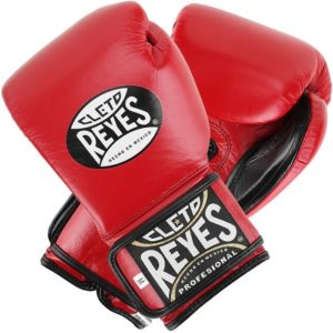 Reyes Lacet / velcro Pro Sparring Rouge