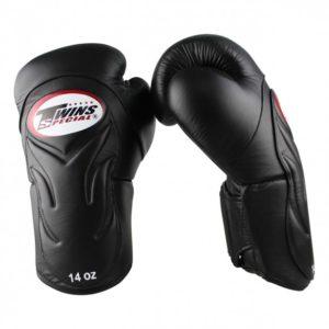 Gants de Boxe Twins DeLuxe Noir