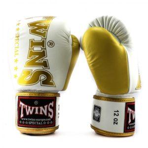 Gants de Boxe Twins Special Blanc