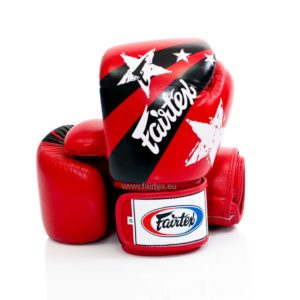Gants de boxe Fairtex RED STARS