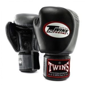 Twins Special Boxing Gloves BLACK AND GREY