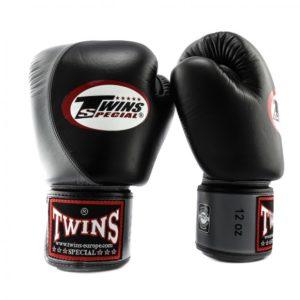 Gants de Boxe Twins Special NOIR/GRIS