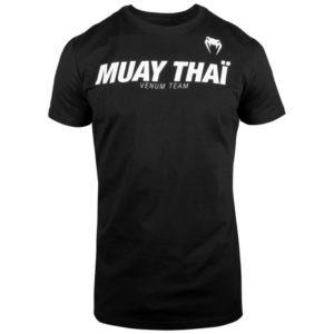 T-SHIRT VENUM MUAY THAI VT - NOIR/BLANC