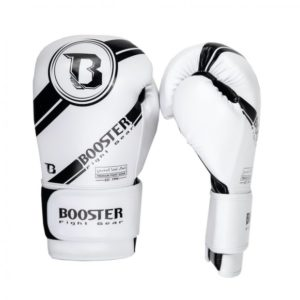 Gants de boxe BOOSTER PREMIUM STRICKER BLANC 2
