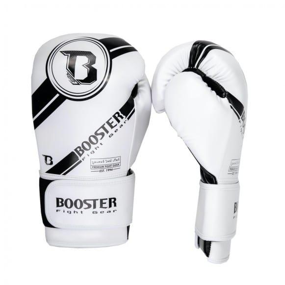 Gants de boxe BOOSTER PREMIUM STRICKER BLANC 2