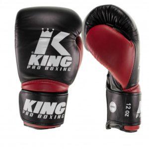 Gants de Boxe KING STAR NOIR/ROUGE