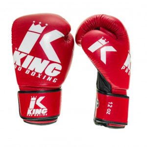 Gants de Boxe KING PLATINUM ROUGE