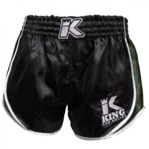 SHORT THAI KING RETRO noir/kaki