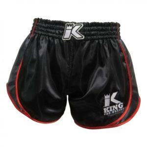 SHORT THAI KING RETRO black/red