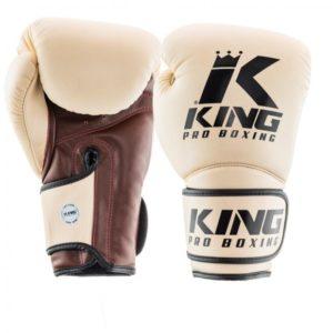 Gants de Boxe KING STAR BEIGE/MARRON