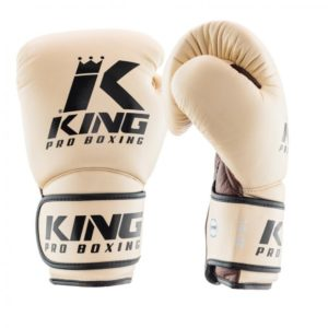 Gants de Boxe KING STAR BEIGE/MARRON