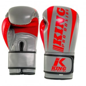 Gants de Boxe KING PRO BOXING REVO gris