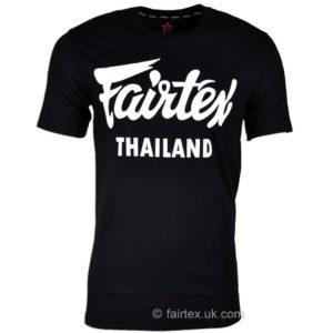T-SHIRT FAIRTEX THAILLANDE noir