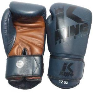 Gants de Boxe KING PRO BOXING bleu