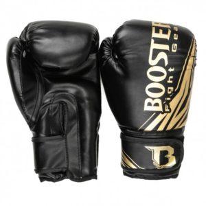 Gants de boxe BOOSTER Champion BT noir/or