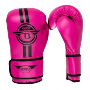 Gants de boxe BOOSTER ELITE rose
