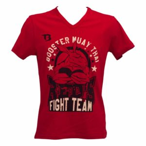 T-shirt BOOSTER Kangourou rouge