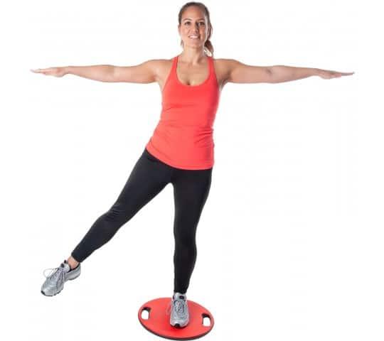 Planche d'équilibre avec poignets PURE