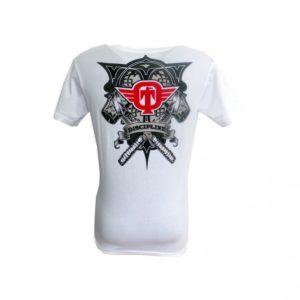 T-shirt TAPOUT Discipline blanc