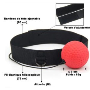 Speed ball avec bandeau XTHAI