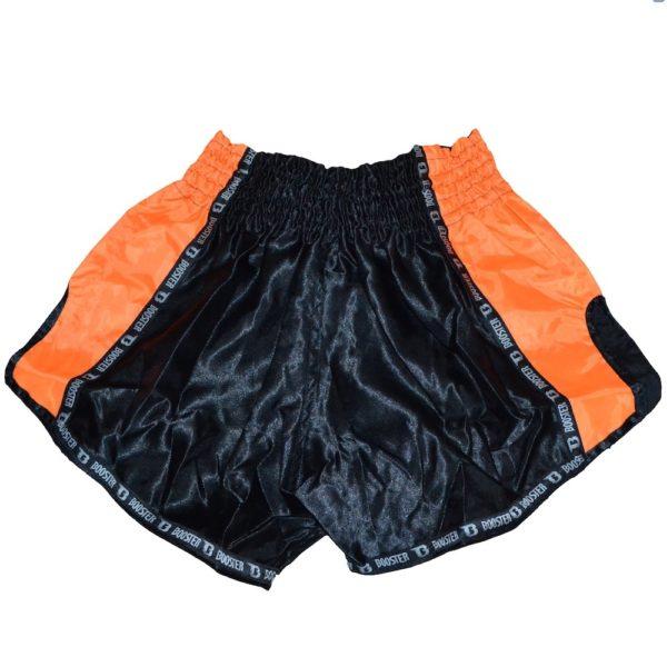 Short BOOSTER noir/orange