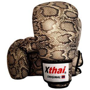 Gants de boxe cuir XTHAI Snake silver