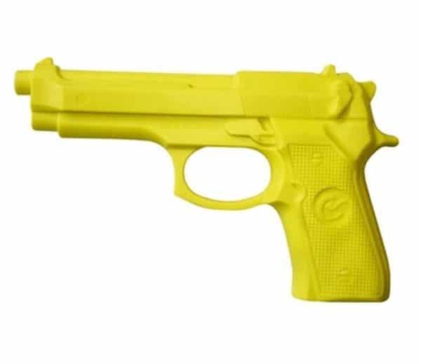 Pistolet en caoutchouc jaune XTHAI