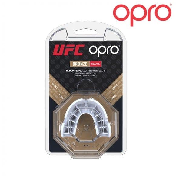 PROTÈGE-DENTS OPRO UFC BRONZE - BLANC