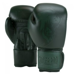 Gants de boxe cuir SUPER PRO Legend vert