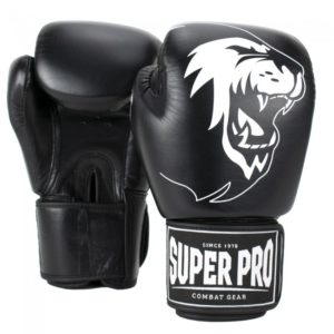 Gants de boxe cuir SUPER PRO Warrior