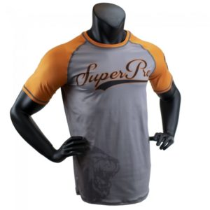 Rashguard SUPER PRO sublime gris/orange