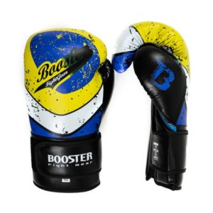 Gants de Boxe BOOSTER Vortex bleu