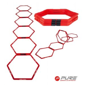 Hexagons for physical exercises PURE