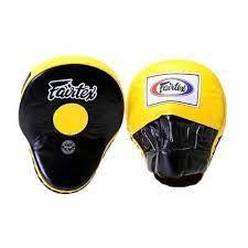 Pattes d'ours Fairtex noir/jaune